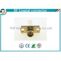 China SMA Jack Straight Panel Coaxial Cable Connectors TOP-SMA11 for Solder on sale