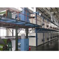 Quality Gas burner Automatic Drying Stenter Machine Double layer / Heat Setting Machine for sale