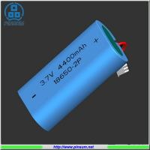 Quality Li-ion battery 18650 3.7V 4400mAh for flashlight for sale