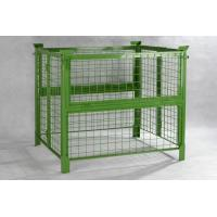 Quality 1000mm Width Steel Push Back Pallet Rack Pallet Container High Performance for sale