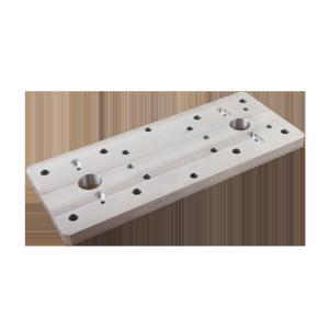 Quality Cnc aluminum alloy machining Plate Precision CNC Drilling for sale