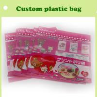 Quality cartoon header bag with self-adhesive colorful in China for sale