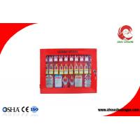 Quality Loto Safety Lockout Station Red Energy Insulation 22 - Padlocks Available 430mm Height for sale