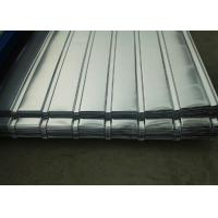 Buy cheap Corrugated Galvanized Steel Sheets , Corrugated Roofing Sheets For Construction Roof from wholesalers