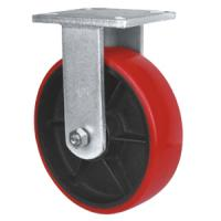 Quality iron cast pu caster,Pu on iron caster,heavy duty caster for sale