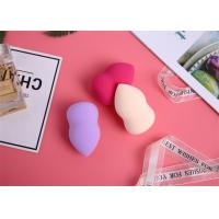 Quality Facial Removal  Egg Shaped Makeup Sponge Highly Breathable Skin Care for sale