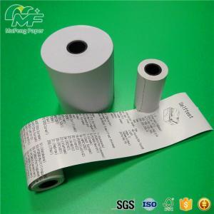 Buy White Thermal Receipt Printer Paper OEM Printed at wholesale prices