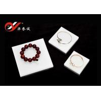 Quality 3 Pieces Set Square Acrylic Counter Display Stands / Platform For Jewelry Show for sale