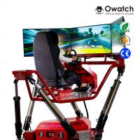 Quality Hot Sale Car Racing Arcade Game Machine,Car Driving Racing Simulator Amazing Car Driving 9D VR 360° Vision for sale
