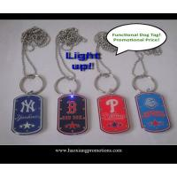 Quality Metal Printing Custom Dog Tag Epoxy Coated Stainless Steel Dog Tag for sale
