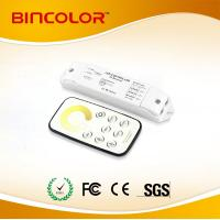 Quality Bincolor T2+R3 12v-24v  colot temperature circle touch remote led mini CT  touch dimmer for sale