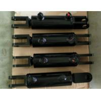Quality Steel Body Garbage Truck Hydraulic Cylinders / Double Hydraulic Cylinder for sale