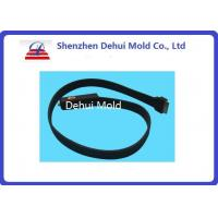 Quality ROHS Silicone Rubber Parts Overmolding Metal Part Inside For Electric Connector for sale
