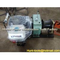 Quality Cable Puller Winches Cable Pony winch Gasoline power 8T for sale