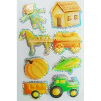 Quality Shinning Decor Small Hologram StickersSheets , Personalized Hologram Stickers for sale