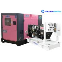 Buy 20kva Perkins Diesel Water Cooled Generator Electric Power 16kw Silence Genset 3 Phase at wholesale prices