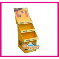Quality Retail Custom Pop Displays, Pop Display Stand with Matte Lamination, UV, Gold Hot Stamping for sale