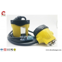 China Atex LED mining helmet lights miners cap lamp with flash light cable, rechargeable led cap light on sale