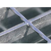 China Composite Light Welded Steel Bar Grating 30 / 40 / 60mm Bearing Bar Pitch on sale