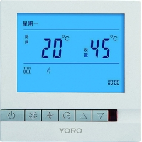 Quality Thermoelectric Actuator Control Units Temperature Controller LCD Display with NTC Sensor for sale