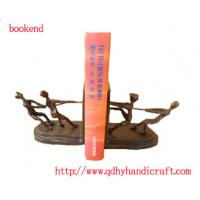 Quality bookend with people,metal craft,make your books neat for sale