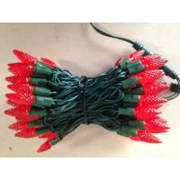 Quality c6 led christmas lights red for sale