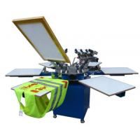 Quality SG-3M3 Textile Screen Printing Machine with 8 color 8 station for sale