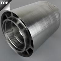 Quality Cobalt Chrome Alloy High Shear Rotor Stator Mixer Great Wear Resistance Silver Color for sale