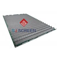 Quality 1050 X 695 Mm Stainless Steel Screen Mesh / Shale Shaker Screen  Construction Type for sale