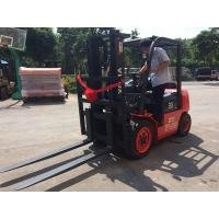 China Steel Bar / Roll Material Handling Equipment Diesel Forklift One Year Warranty on sale