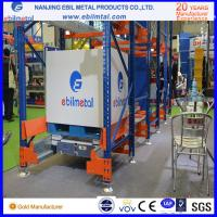 Quality Big Brand Powder Coated Steel Radio Shuttle Pallet Racking with Pallet Runner for sale