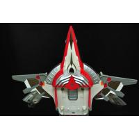 China Deformation Transformer Plane Toy Customized Color Eco - Friendly ABS Material on sale