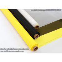 Quality Mesh Banner Material/Screen Printing Fabric 64T 64W polyester screen printing mesh for textile for sale