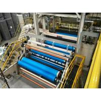 Buy cheap A.L-Nonwoven Double Beam PP Spunbond Nonwoven Fabric Production Line / Nonwoven fabric making machine from wholesalers