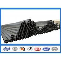 Quality ASTM A36 500KGF Design Load 30FT 11.9M Electric Power Pole for Philippines Transmission Line for sale