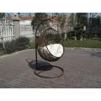 Excellent Contemporary Outdoor Rattan Furniture Swing Chair For Cafe
