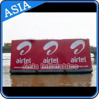 China Floating Billboard With Banner Advertising Inflatables Water Billboard For Summer on sale
