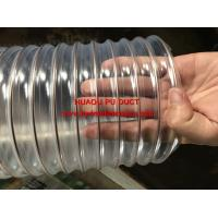 Quality PU DUCT HOSE / Ducting hose/ Flexible PU Steel Wire Spiral Venilation / Air Duct Tube/Hose/Pipe for sale