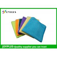 Quality Different Size Microfiber Cleaning Cloth Disposable Cleaning Cloths Easy Wash for sale
