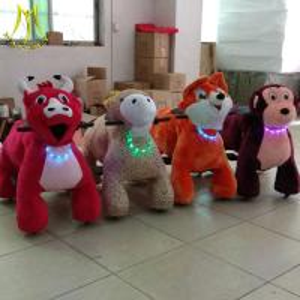 Hansel wholesales adult can ride mini games plush stuffed toy animal