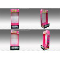 China Rectangle Sidekick Display Stand , Wall-mounted corrugated pop displays on sale