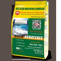 China Touch free concentrated Car wash powder no smell environmental friendly resolving quickly,shining tires on sale