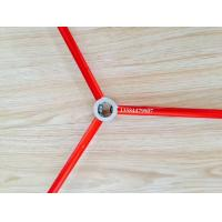 China Red and Green Color Anodized Aluminum Round Tube / Pipe Used For Tent on sale