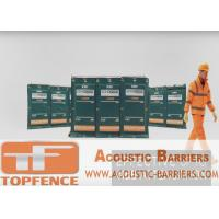Quality Temporary Sound Barriers Fence  4 layers design non flammable layer and waterproof 40dB for sale