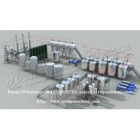 Quality Stainless steel fructose syrup equipment high fructose corn syrup production plant for sale