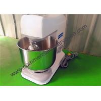 Quality Table Top Electric Cake Mixer 5L 220V Single Phase 304 Food Grade SS for sale
