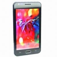 Quality 5-inch Smartphone with MT6575 1GHz Dual Core/WVGA Capacitance Screen/5MP Camera/Android 4.0 for sale