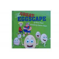 Quality Coated Matt Art Paper Kids Book Printing , Picture Book Printing For The Great Eggscape for sale