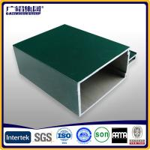 Quality big profile aluminium for unitized curtain walls for sale