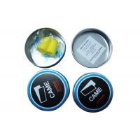 Quality Sound Proof Ear Plugs Yellow Color , Swimming Ear Plugs Waterproof 2.4*1.3CM Size for sale